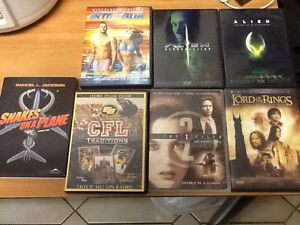 X files__snakes on a plane_ footballLORD OF THE RINGS_+ MORE+CDS