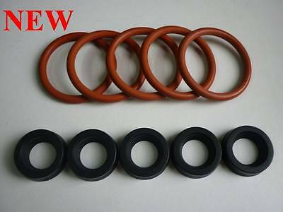 Saeco Set  5X O Ring Piston Brew Group And 5X Water Tank Gasket