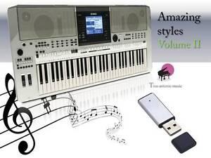 PSR-S710-USB-Stick-AMAZING-Song-Styles-VOLUME-2-NEW