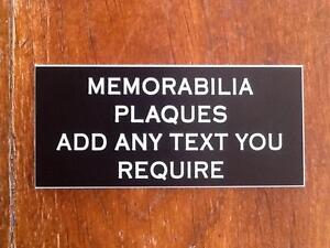 Memorabilia-Plaques-Engraved-with-your-TEXT-various-sizes-Colours