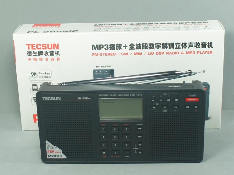 Радиоприёмник TECSUN PL-398MP MP3 Player FM-Stereo/SW/MW/LW DSP на eBay