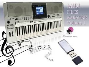 MIDI-File-Karaoke-USB-stick-for-PSR-S710-Vol-1