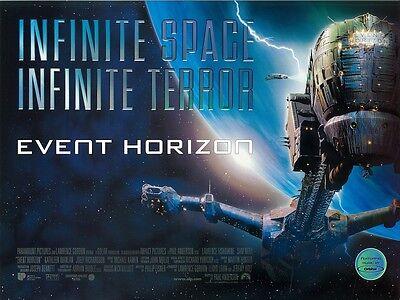 Event Horizon Movie Poster : Sci Fi Horror - 12 X 16 Inches