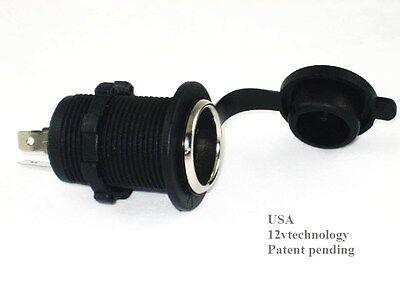Weatherproof Marine Motorcycle Cigarette Lighter Socket 12 V Volt Power Outlet