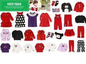 Gymboree-Winter-Penguin-Dress-Tee-Leggings-Skirt-Hat-Socks-3-to-24-m-2-3-4-5-NWT