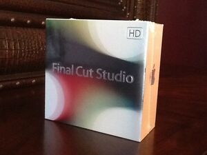 APPLE FINAL CUT STUDIO 3 HD WITH FINAL CUT PRO 7 (MB642Z/A) FACTORY SEALED (NEW)