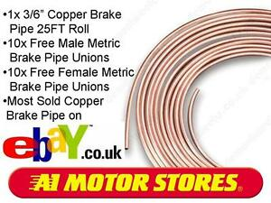 3-16-COPPER-BRAKE-PIPE-WITH-20-FREE-METRIC-UNIONS