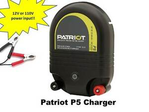 Electric Fence Energizer Charger Patriot P5 For All