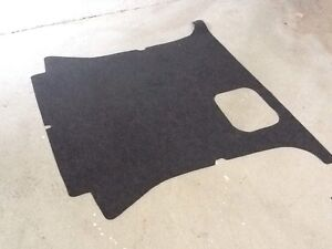 FULL REAR BOOT CARPET LINER MITSUBISHI PAJERO SHOGUN 2.8 2.5 V6 LWB