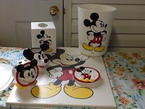 Ensemble pour salle de bain Mickey Mouse