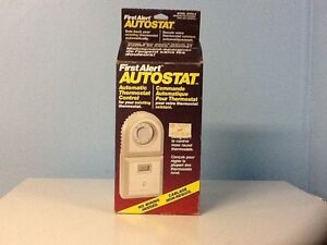 New First Alert Autostat Thermostate