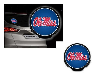 New Nip Ncaa Mississippi Ole Miss Rebels Car Automotive Led Motion Power Decal
