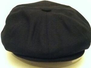 NAVY-BLUE-RETRO-1920-S-1930S-VICTORIAN-EDWARDIAN-PEAKY-BLINDERS-STYLE-CAP