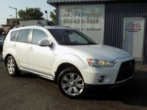 MITSUBISHI OUTLANDER XLS 2011***AWD,CUIR,TOIT,7 PASSAGER***