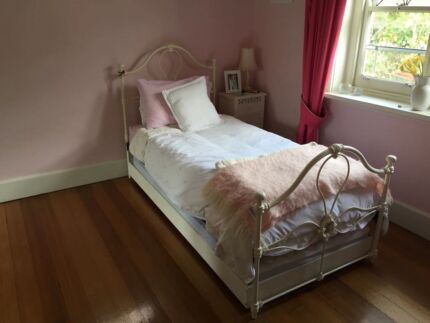 Cast Iron Slat Based Single Bed Brighton Bayside Area Preview