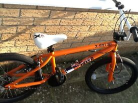 X-Rated BMX in bright orange and white. VGC!!