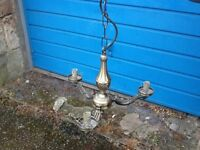 Lovely light fitting for sale with modern wiring.