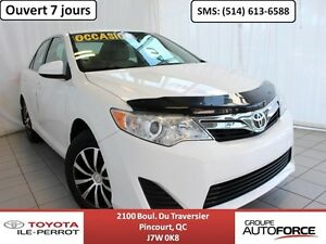 2012 Toyota Camry LE, A/C, GR ÉLEC, CRUISE, BLUETOOTH LOW MILEAG