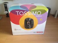 Only a week old, boxed and unopened Tassimo Coffee machine