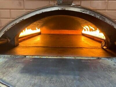 Bimatic Pita-pizza Bread Baking Pie Pastry Open Flame Propane Gas Oven