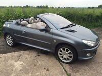 Peugeot 206cc **LOW MILEAGE** **LOW PRICE FOR QUICK SALE**