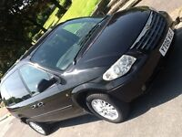 2005 CHRYSLER VOYAGER 2.4 LX MANUAL WITH FULL LEATHER INTERIOR AND LOW MILEAGE