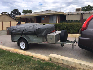 CAMPER TRAILER/ LIGHT/ NO NEED FOR ELEC BRAKES Warwick Joondalup Area Preview