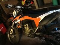 2012 KTM 350 . In good condition push button start