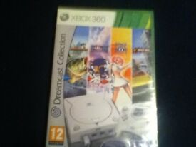 new / sealed dreamcast collection game