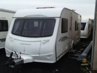 2010 coachman highlander 560 fixed bed 4 berth end changing room with fitted mover