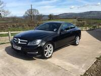 MERCEDES C CLASS C180 1.6 AMG SPORT COUPE