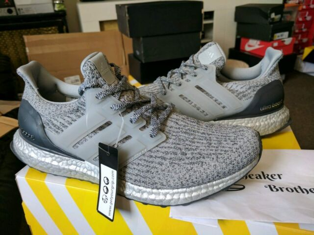 e67d4935f adidas Ultra Boost M 3.0 Ltd Super Bowl Edition Silver Pack Edition Grey  Ba8143 9