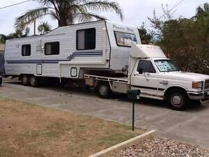 5TH WHEELER & F250 TOGETHER - FABULOUS DEAL Forrestfield Kalamunda Area Preview