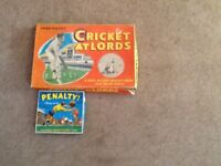 2 vintage table games from Chad valley and Pepys games