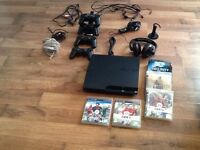 Playstation3 with games and accessories