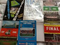 Another lot of special final soccer programmes