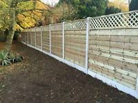 Fencing and tree surgery landscaping garden maintenance