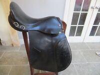 Leather saddle 15 1/2 inch