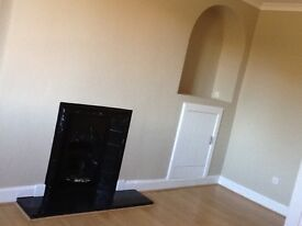 Large 3/4 bedroom flat for let own private gardens, shed and decking