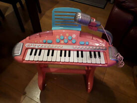Kids Electronic Keyboard Piano With Microphon