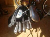 Childs set of golf clubs