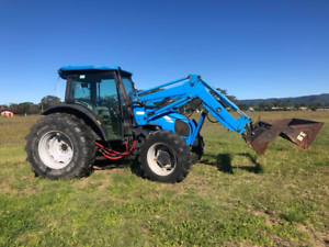 Landini tractor 85hp with 4 in 1 bucket Mullumbimby Byron Area Preview