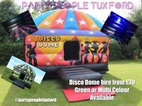 Disco dome hire tuxford notts and surrounding areas