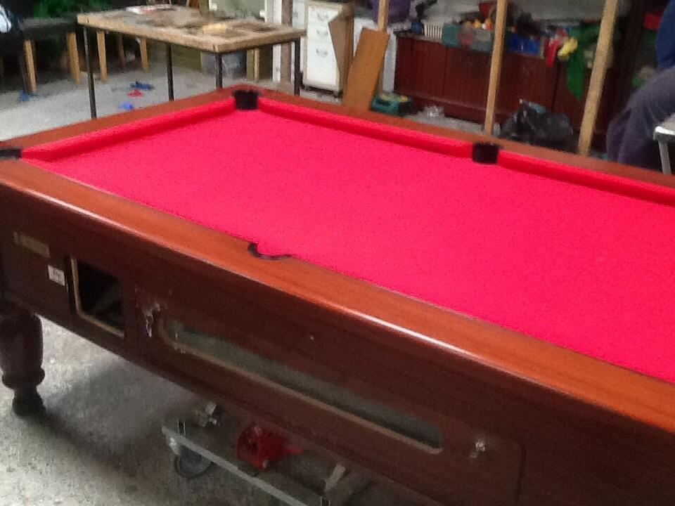 Pool Table Pub Style Slate Bed