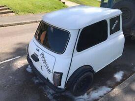 Classic Mini Caravan / Trailer