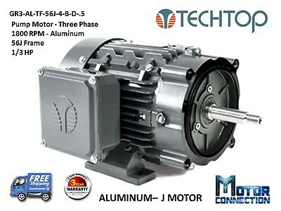 12 Hp Electric Motor Pump 1800 Rpm 56j 3-phase Nema Premium