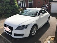 FOR SALE - White Audi TT 2.0 TFSI Sport 3dr 63500 miles - Great Condition