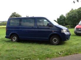VW transporter, 9 seater mini bus, new MOT, £3000 recently spent, serviced