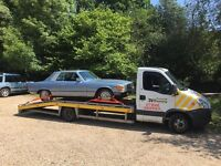 24 hour car van motorcycle breakdown recovery transport