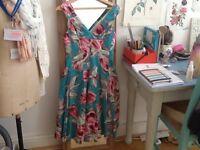 Beautiful Phase Eight silk dress size 10